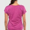 Womens-T-shirt-V-Neck-That-Kizomba-Though-Heather-Rasberry-2143