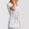 Womens-T-shirt-Scoop-Neck-On1-On2-Whatever-White-1790
