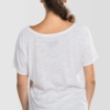 Womens-T-shirt-Scoop-Neck-On1-On2-Whatever-White-1805