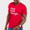 Mens-T-shirt-That-Zouk-Though-Red-5608