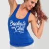 Womens-Tank-Top-Bachata-and-Chill-Royal-Blue-1162