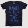 Mens-T-shirt-Mambo-Conga-Navy-Blue-Small-FPO