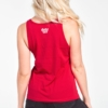 Womens-TankTop-The-World-Is-Your-Dance-Floor-Red-5697