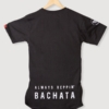 Mens-T-shirt-Always-Repin-Bachata-Black-Back
